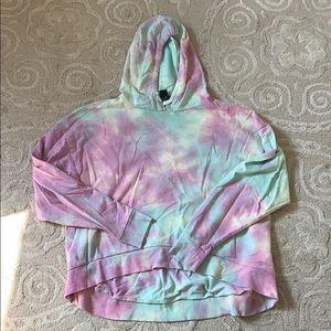 Tie dye hoodie sweatshirt